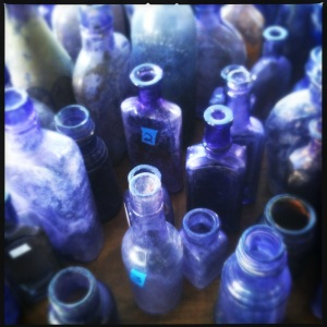 Purple Glass Bottles
